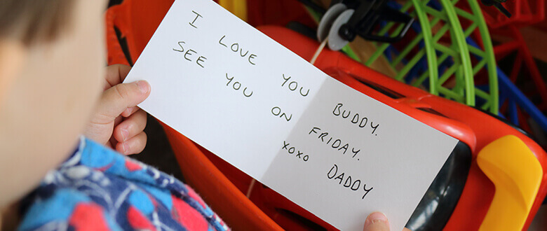 Note from Daddy